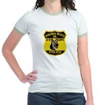 VA Beach PD Canine Jr. Ringer T-Shirt