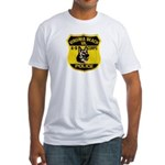 VA Beach PD Canine Fitted T-Shirt