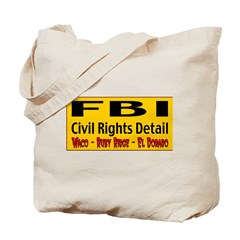 FBI Civil Rights Detail Tote Bag