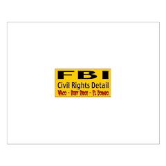 FBI Civil Rights Detail Posters