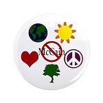 "6 Symbol Anti-McCain Big 3.5"" Button"