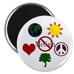 Six Symbol Anti-McCain (10 Magnets)