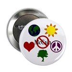 Six Symbol Anti-McCain Buttons (100)