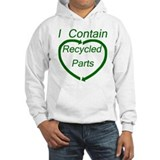 Recyled Parts  Hoodie