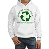 Recycled Parts Inside Hoodie Sweatshirt