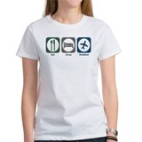 Eat Sleep Aviation Tee