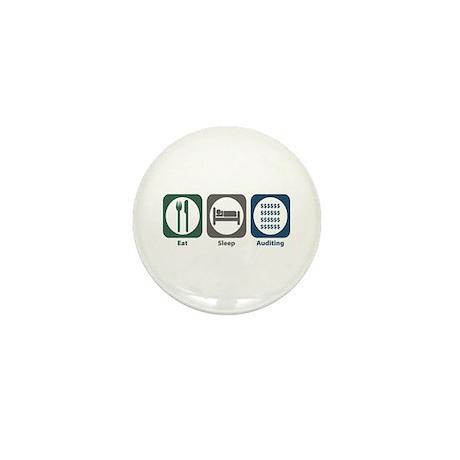 Eat Sleep Auditing Mini Button (100 pack)