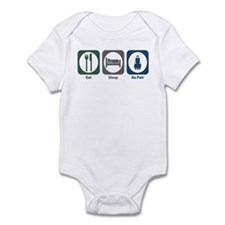Eat Sleep Au Pair Infant Bodysuit