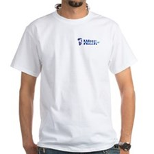 White BRB Logo T-Shirt