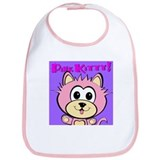 """Pink Kitty"" Bib"