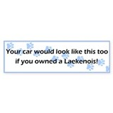 Your Car Laekenois Bumper Bumper Sticker