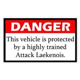 Danger Laekenois Decal