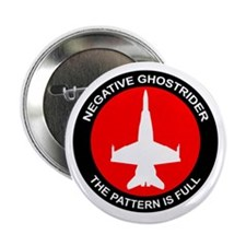 "Negative Ghostrider The Patte 2.25"" Button"