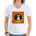 Chihuahua Puppy Women's V-Neck T-Shirt