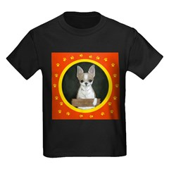 Chihuahua Puppy Kids Dark T-Shirt
