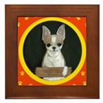 Chihuahua Puppy Framed Tile