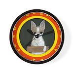 Chihuahua Puppy Wall Clock