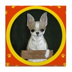 Chihuahua Puppy Tile Coaster