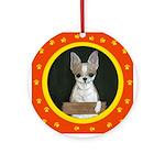 Chihuahua Puppy Ornament (Round)