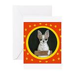 Chihuahua Puppy Greeting Card