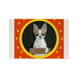 Chihuahua Puppy Rectangle Magnet