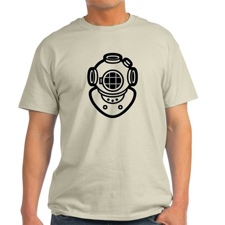 Diving Helmet Light T-Shirt
