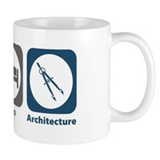 Eat Sleep Architecture Small Mugs