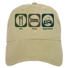 Eat Sleep Appraisals Baseball Cap