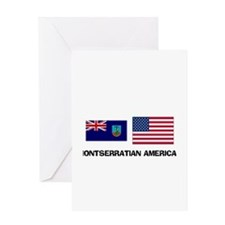 Montserratian American Greeting Card