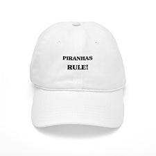 Piranhas Rule Baseball Cap
