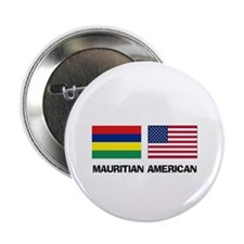 "Mauritian American 2.25"" Button (10 pack)"