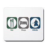 Eat Sleep Aikido Mousepad