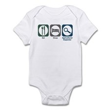 Eat Sleep Agricultural Inspector Infant Bodysuit