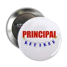 "Retired Principal 2.25"" Button"