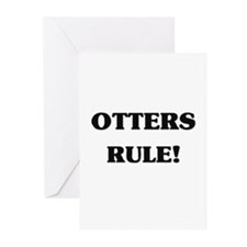 Otters Rule Greeting Cards (Pk of 10)