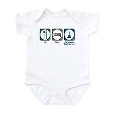 Eat Sleep Aerospace Engineering Infant Bodysuit