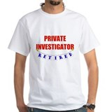Retired Private Investigator Shirt