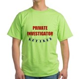 Retired Private Investigator T-Shirt