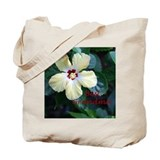 Best Grandma Hibiscus Flowers Tote Bag