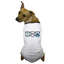 Eat Sleep Admissions Dog T-Shirt