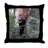 Pileated Woodpecker Throw Pillow
