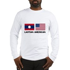 Laotian American Long Sleeve T-Shirt