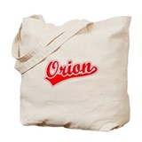 Retro Orion (Red) Tote Bag