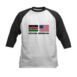 Kenyan flag Kids Baseball Jerseys