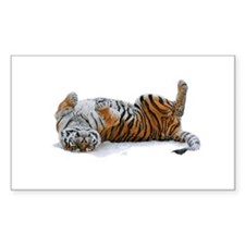 Tiger Rectangle Decal