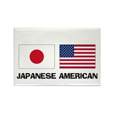 Japanese American Rectangle Magnet (10 pack)