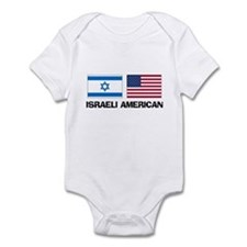 Israeli American Infant Bodysuit