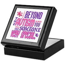 Look Beyond 1.4 (AUTISM) Keepsake Box