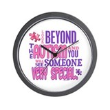 Look Beyond 1.4 (AUTISM) Wall Clock