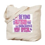 Look Beyond 1.4 (AUTISM) Tote Bag